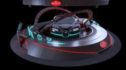 Bugatti Activation stand concept