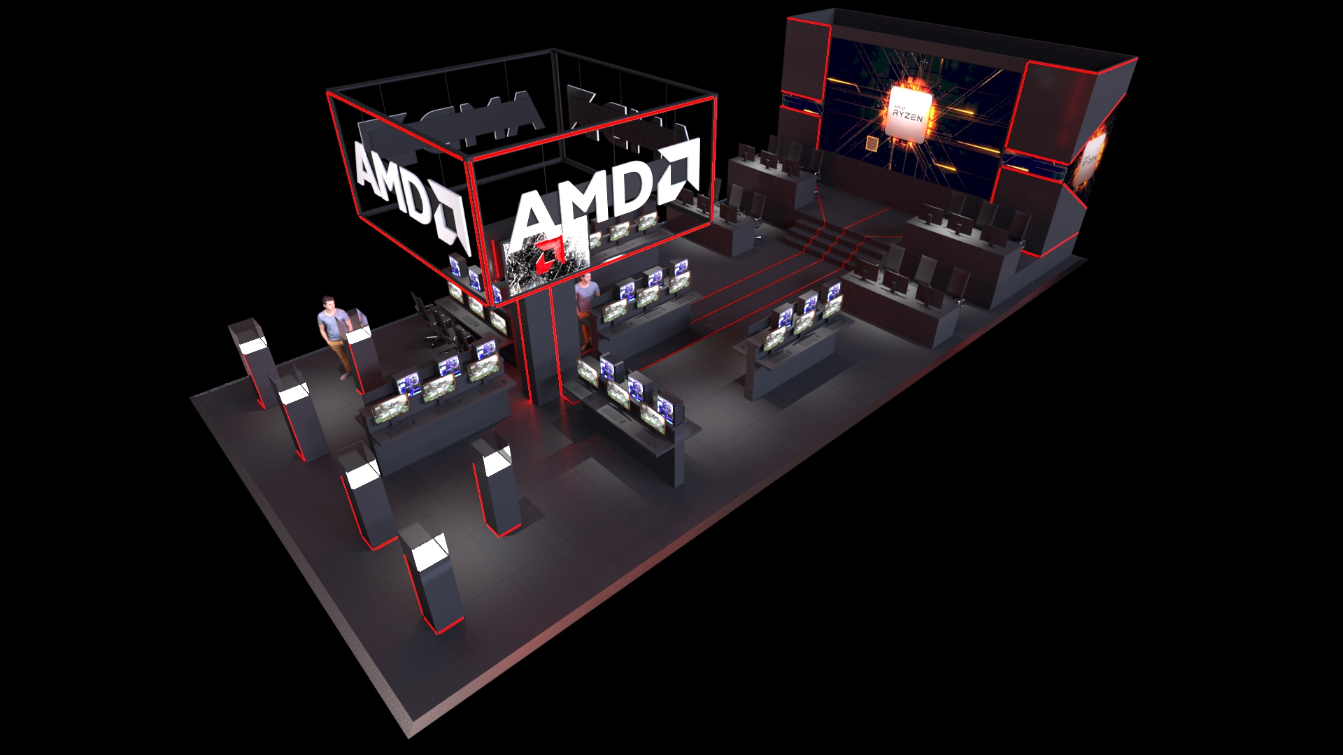 AMD Stand Concept