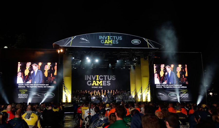 Invictus Games opening ceremony