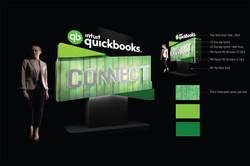 Quickbooks 3D Logo Entrance Feature
