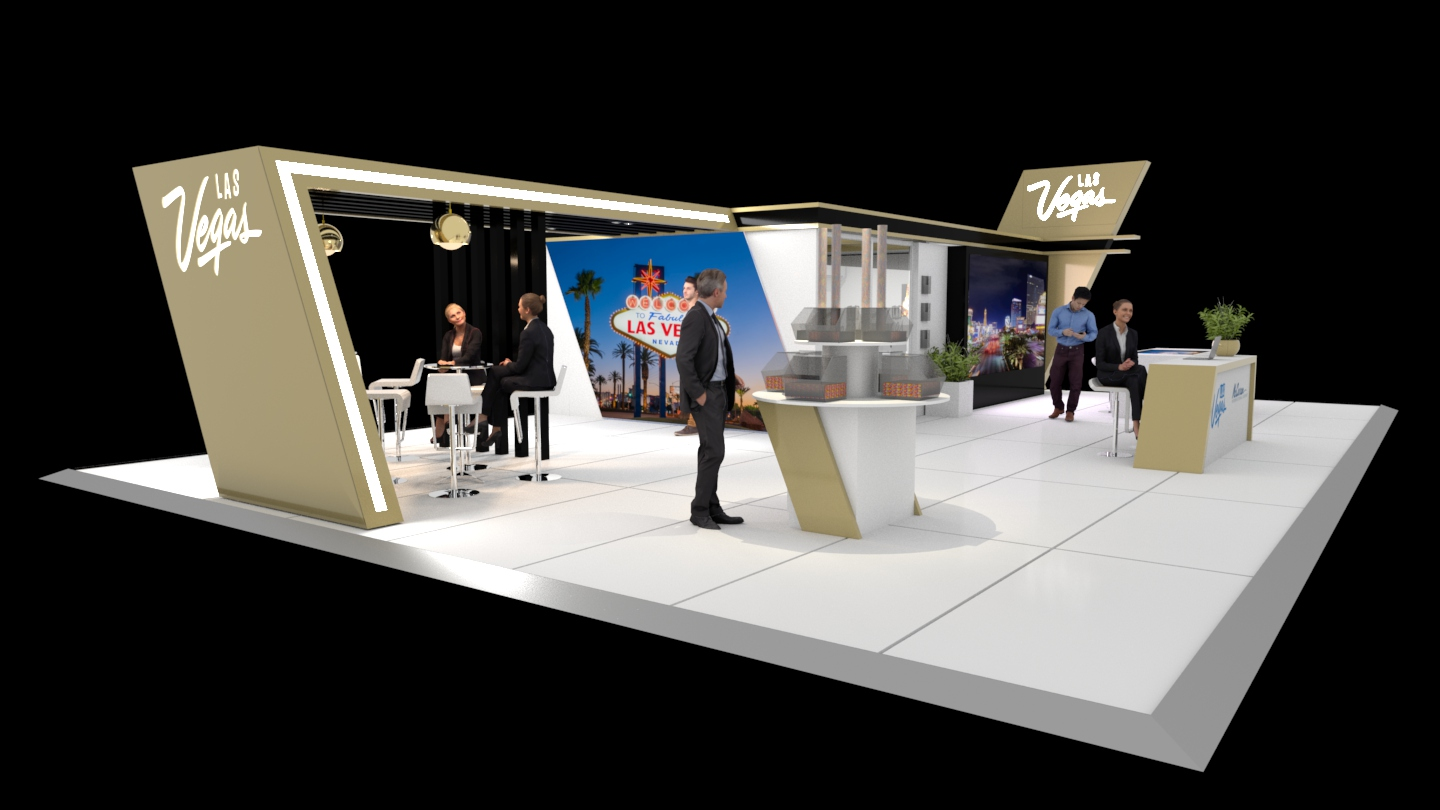 World Routes Custom Stand concept