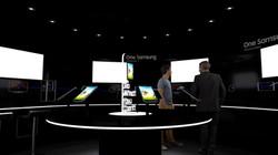 Interior Hub, Samsung Brand Activation, Galaxy Studio experimental structure