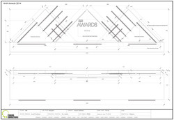 AHA Stage set Build drawing