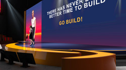 Amazon ICC Keynote stage design