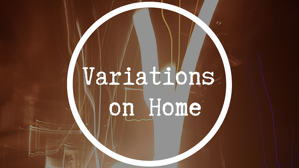Variations on Home Chapbook