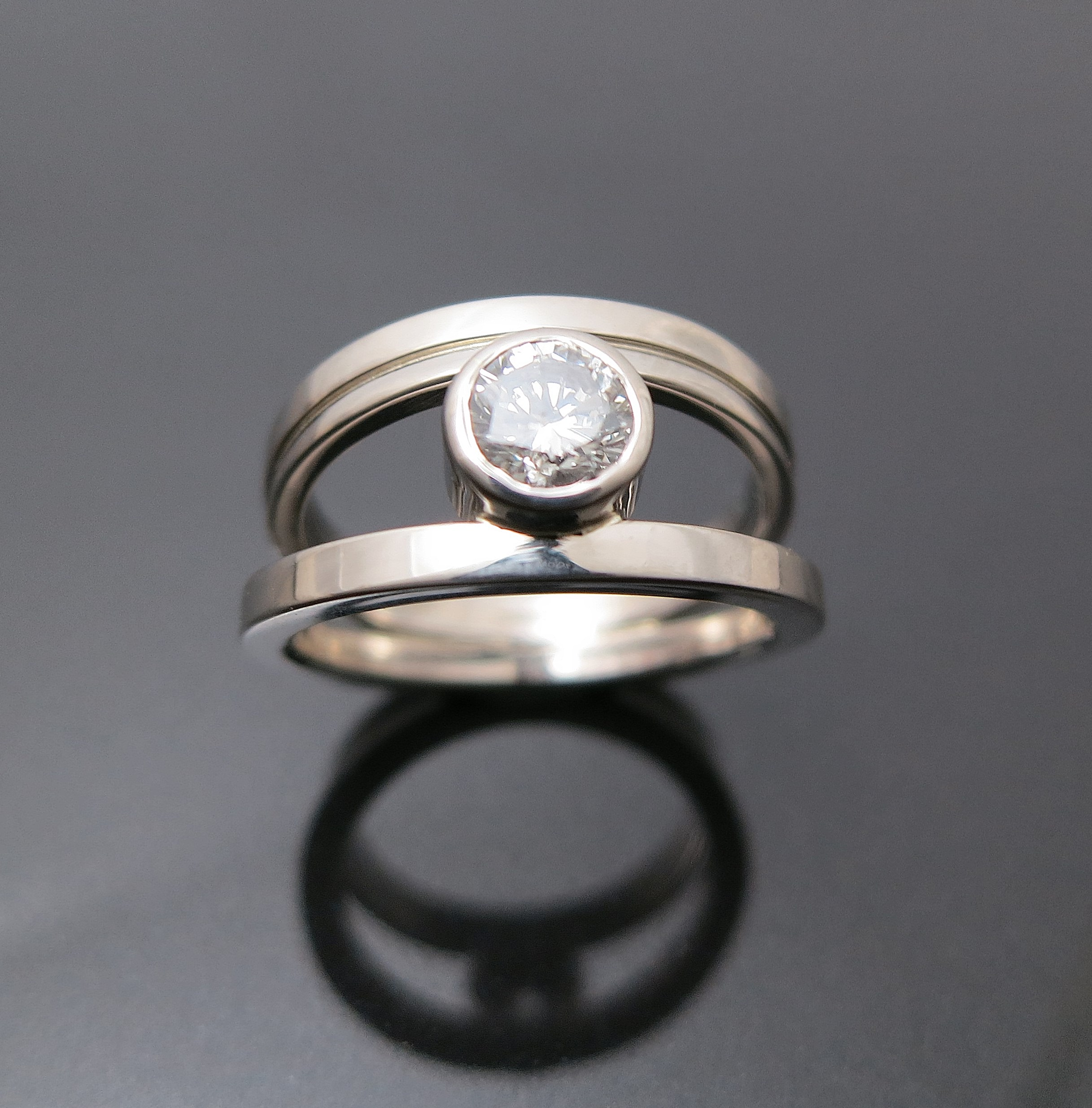 Custom- Kathryn's wedding ring