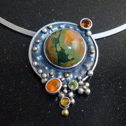 Coalescing Galaxy. pendant