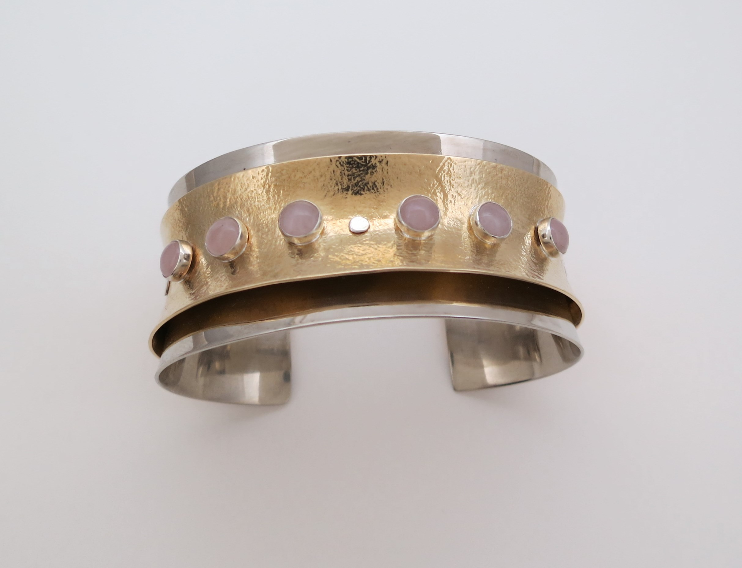 Anticlastic cuff bracelet