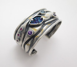 Mermaid Retrograde cuff bracelet