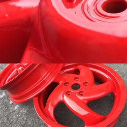 Red - High Gloss finish