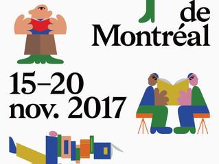 Salon du Livre Montréal 2017                                                  LE COURAGE D'ÊTRE