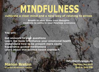 Mindfulness Workshop in Vancouver