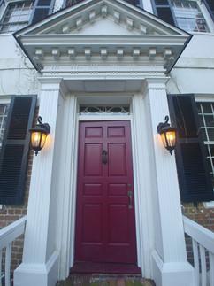 Chanceford Hall Front Entrance