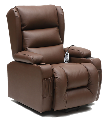 Atlantis Lift Recliner Chair - Natural Leather