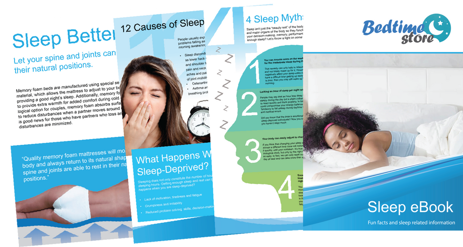 Download our Sleep eBook!