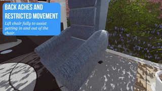 Chair postional relief