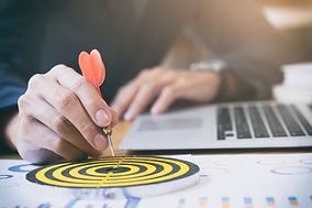 Canva - Business strategy success target