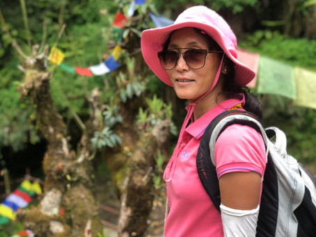 Hiking the Himalayas with One of Nepal's Few Female Guides
