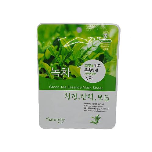NaturebyGreen Tea Essence Mask Sheet
