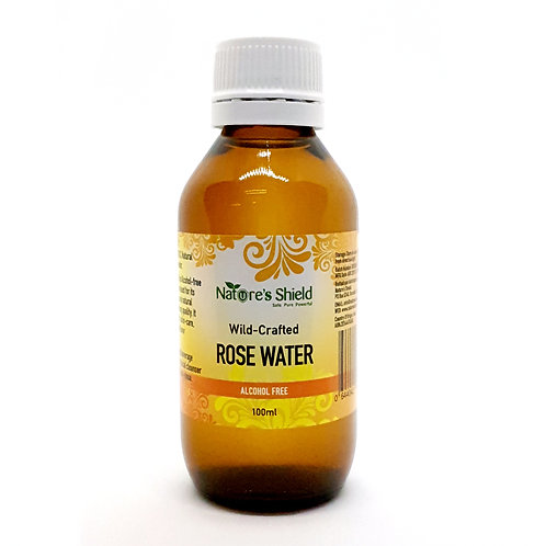 Nature Shield Wild-Crafted Rose Water
