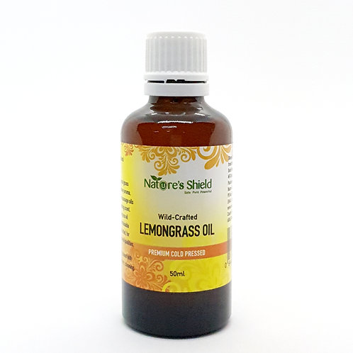 Nature Shield Wild-Crafted Lemongrass Oil
