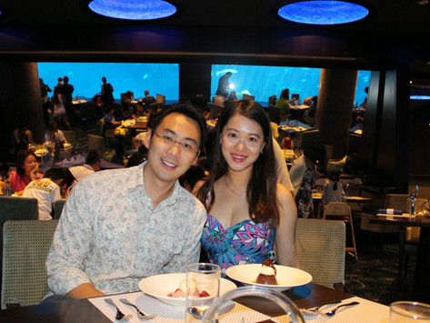 Dine with the Fishes at Ocean Restaurant
