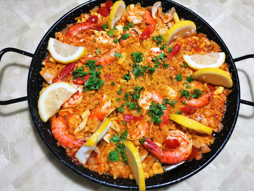 Recipe - Seafood Paella