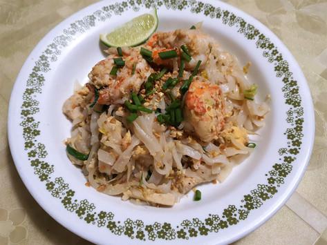 Recipe - Phad Thai (Stir-fried Thai Rice Noodles) - Serves 4