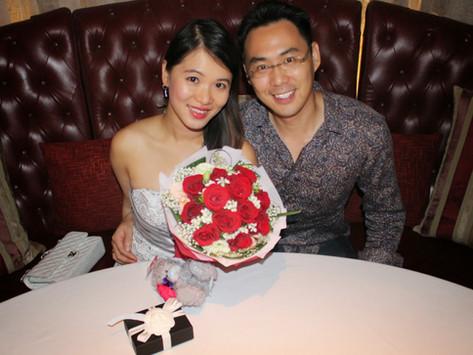 My Birthday Celebration at Gaia, Goodwood Park Hotel