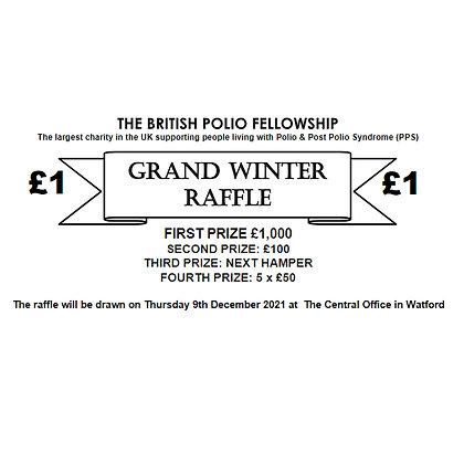 Winter Raffle Ticket