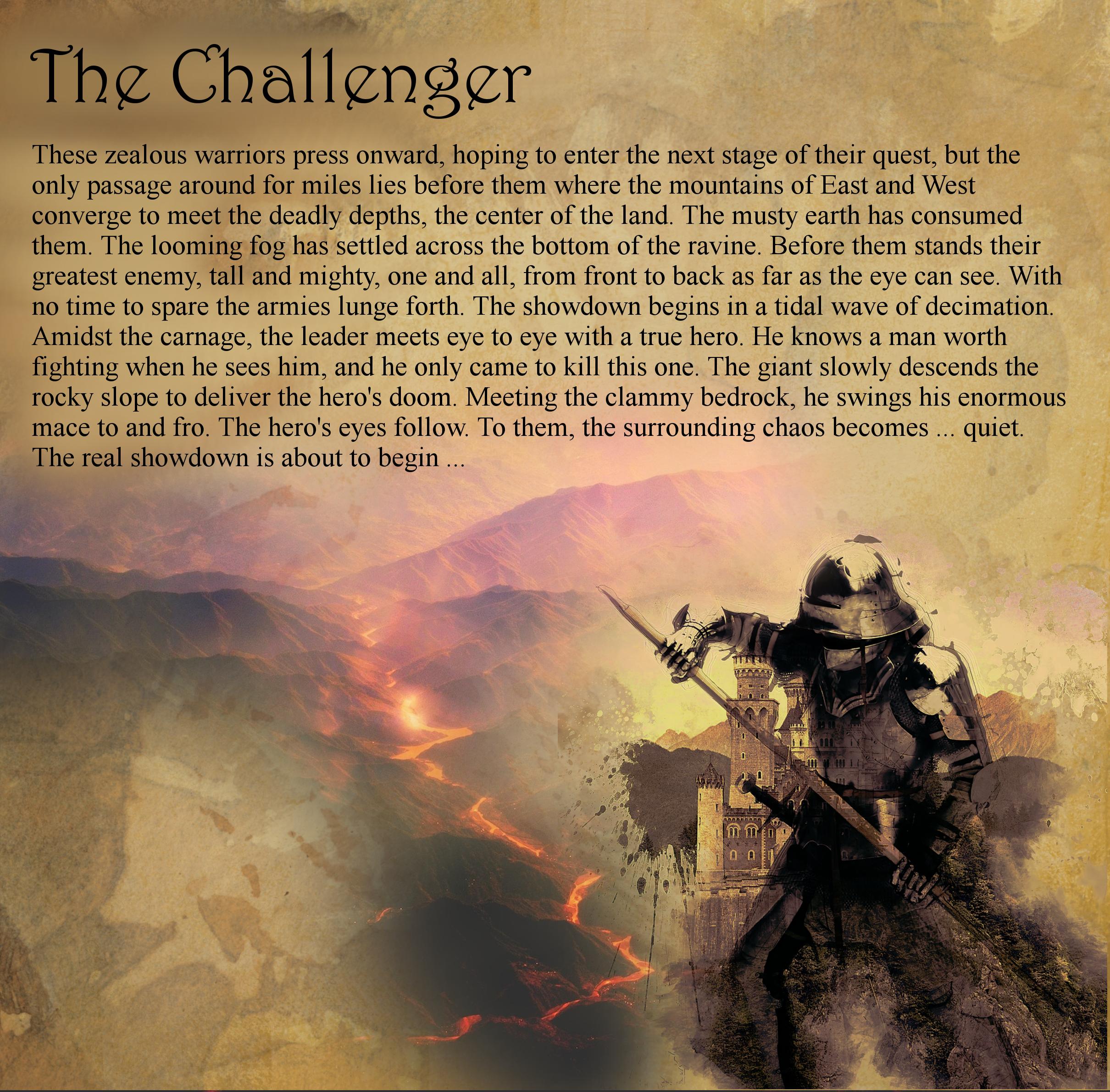 The Challenger Insert