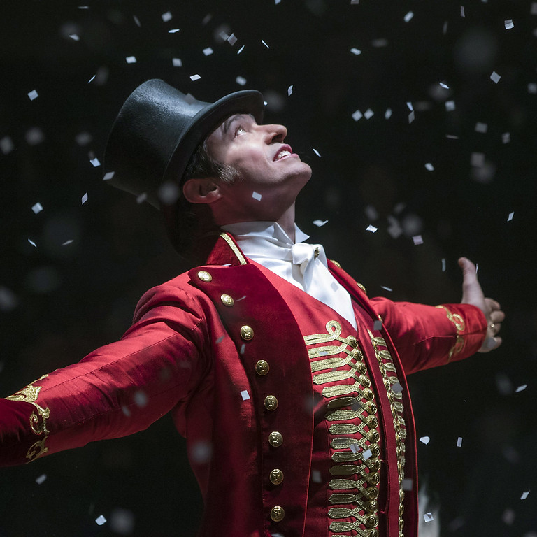 the greatest showman acting