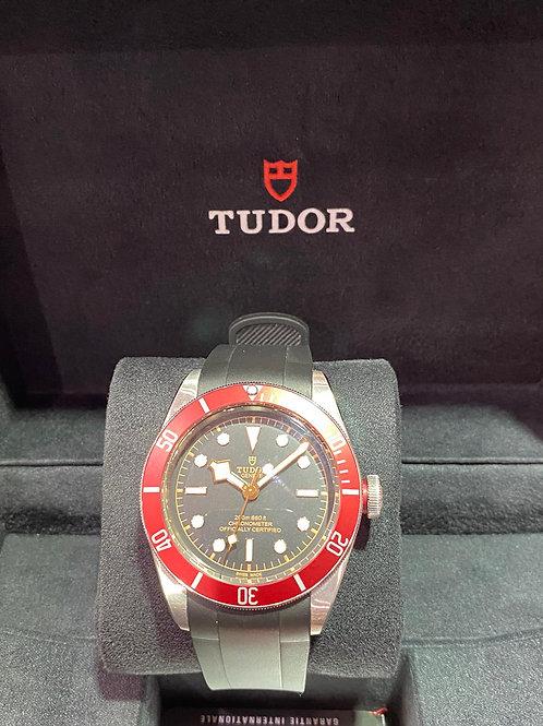 Tudor Rolex Black Bay Red Watch