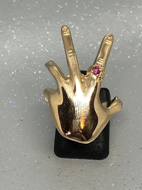 New 9ct JewelledHand Ring