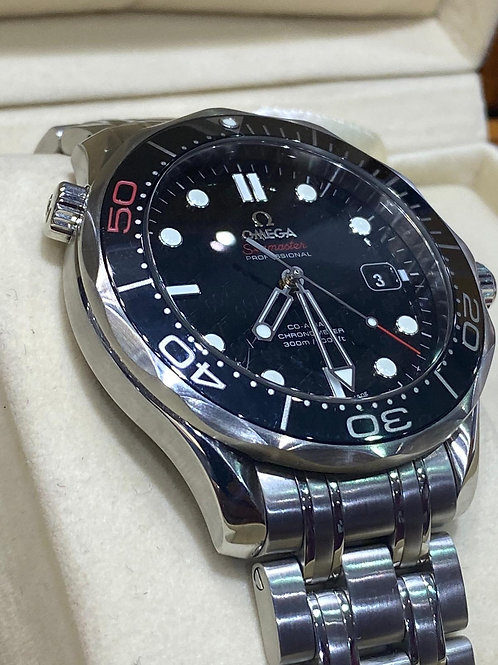 James Bonnd 007 50th Anniversary Omegs SeamasterAutomatic Watch