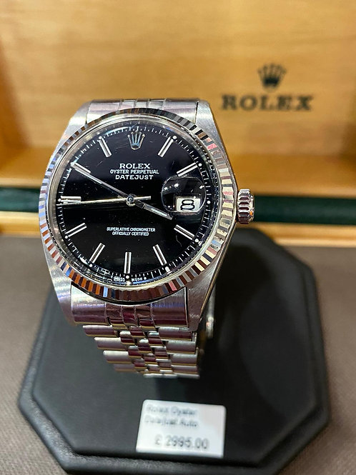 Rolex Oyster Perpetual Datejust Steel Automatic Watch