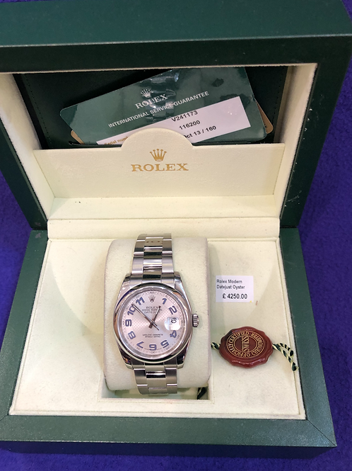 Rolex Datejust 116200 Modern Watch
