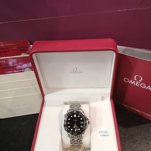 Omega Seamaster 300 Automatic Co-Axial Watch