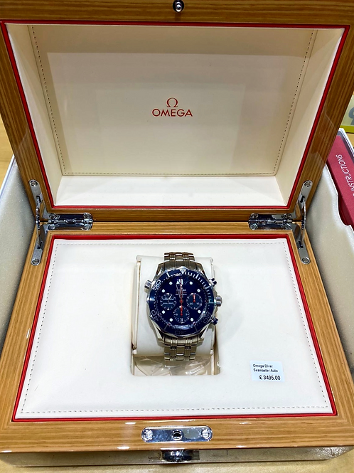 Omega Seamaster Diver Automatic 44mm Watch