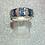 Thumbnail: New 18ct Diamond & Sapphire Ring