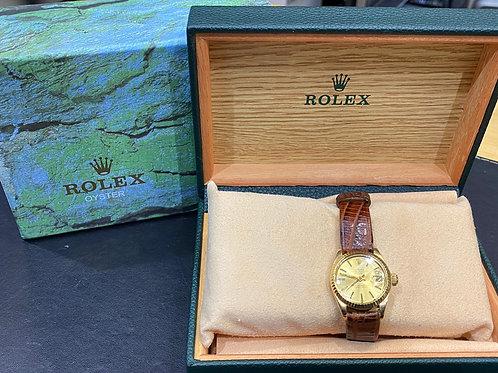 Rolex 18ct Gold Datejust 6917 Watch