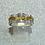 Thumbnail: New 18ct Canary Diamond Ring