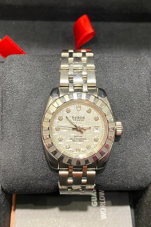 Tudor (Rolex) Ladies Diamond Watch
