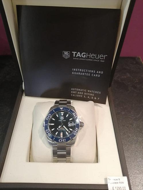 Tag Heuer 5 Aqua racer Automatic Watch