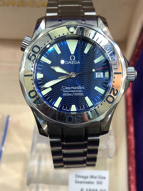 Omega Seamaster 300 Mid - Size Watch
