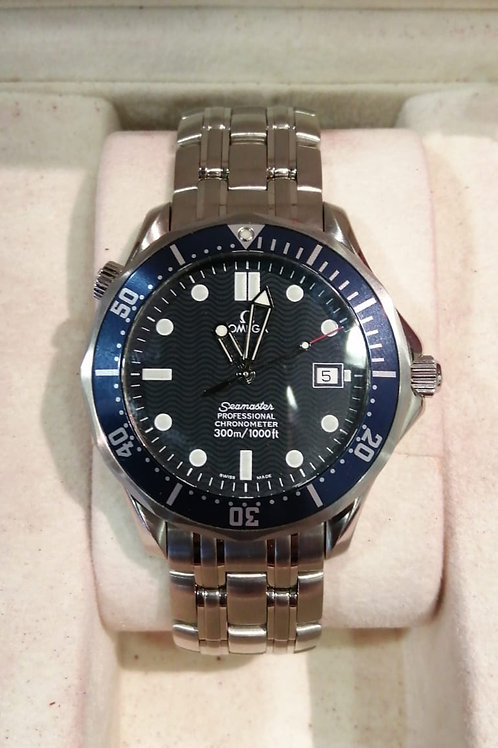 Omega Seamaster 300 Blue Wave Auto Watch