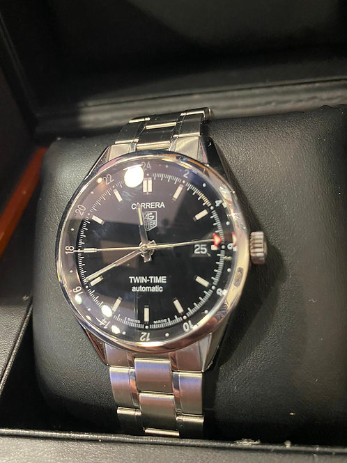 Tag HeuerAutomatic Carrera Twin Time Watch