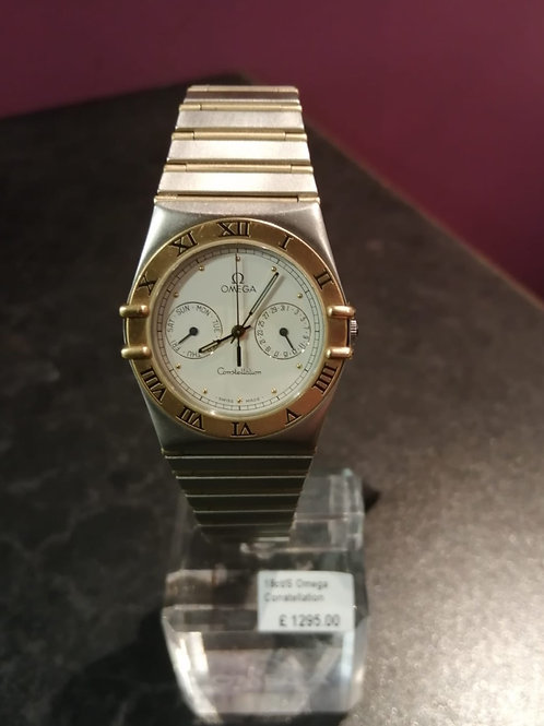 Omega Constellation 18ct Gold & Steel Watch