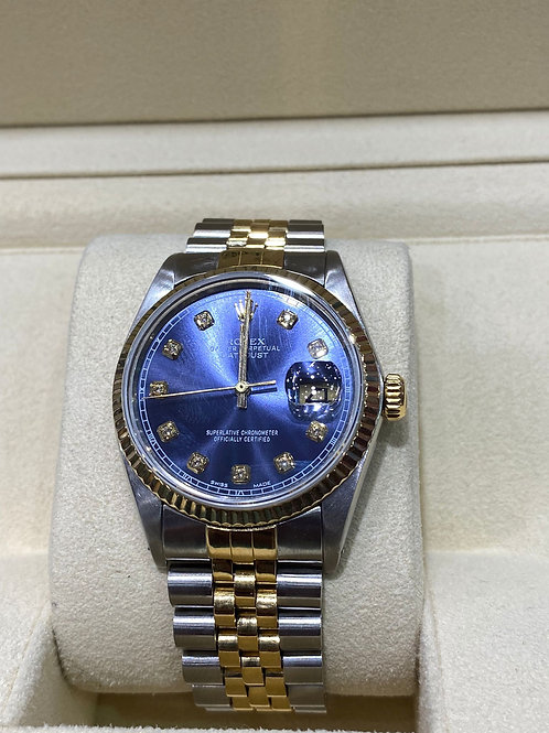 Rolex Diamond Dot Datejust36mm Watch
