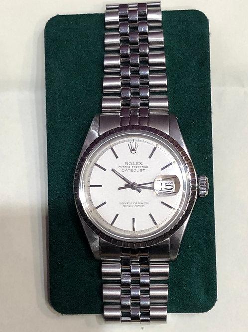 Rolex Datejust 36mm Steel 1803 Auto Watch